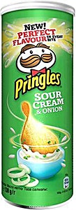 Pringles Sour Cream & Onion 130 g