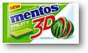 Mentos Gum 3D Watermelon 8.5 g