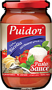 Puidor Pasta Sauce Ricotta 360 g