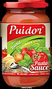Puidor Pasta Sauce Basil 360 g