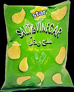 Star Potato Chips Salt & Vinegar 34 g
