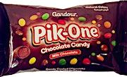 Pik-One Milk Chocolate Candy 45 g