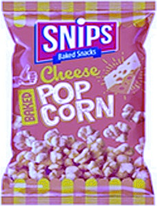 Snips Cheese Baked Popcorn 20% Free 48 g