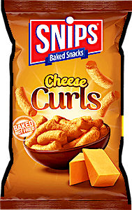 Snips Cheese Curls 20% Free 96 g