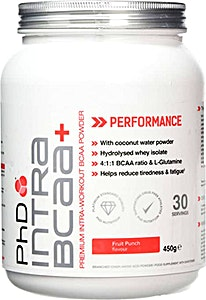PhD Intra BCAA+ Fruit Punch 450 g
