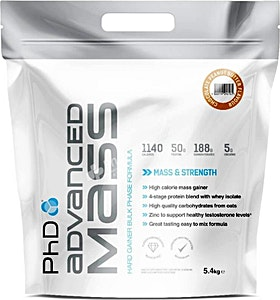 PhD Advanced Mass Chocolate Peanut Butter  5.4 kg