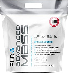 PhD Advanced Mass Strawberry & Cream 5.4 kg