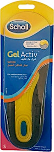 Scholl Gel Active Insoles For Work Small 1's