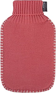 Fashy Knitted Cover Water Bag Pink 1's