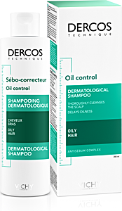 Dercos Oil Control Oily Hair Shampoo 200 ml