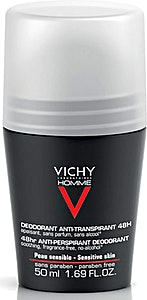 Vichy Sensitive Skin Roll For Men 50 ml