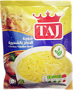 Taj Chicken Noodles Soup 60 g