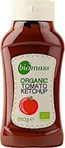 Bio mass Organic Tomato Ketchup  560 g