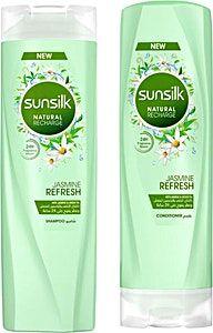 SunSilk Jasmine Refresh Shampoo + Conditionar 10% OFF 350 ml