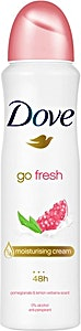 Dove Spray Go Fresh Pomegranate 150 ml