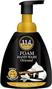114 Foam Hand Wash Sessual Oud 400 ml