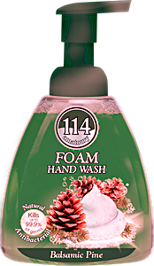 114 Foam Hand Wash Balsamic Pine 400 ml
