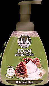 114 Foam Hand Wash Balsamic Pine 400 ml