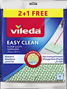 Vileda Easy Clean Floor Cloth 2+1 Free