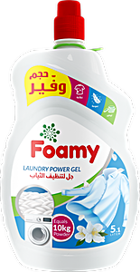 Foamy Laundry Power Gel 5.1 L