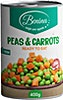 Benina Peas & Carrots 400 g