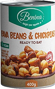 Benina Fava Beans & ChickPeas 400 g