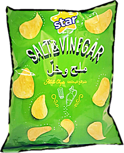 Star Potato Chips Salt & Vinegar 80 g