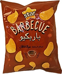 Star Potato Chips Barbecue 70 g