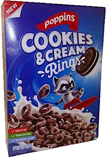 Poppins Rings Cookies & Cream 350 g