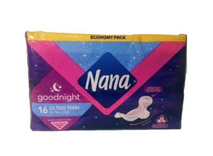 Nana Goodnight Ultra Thin Extra Long  16's