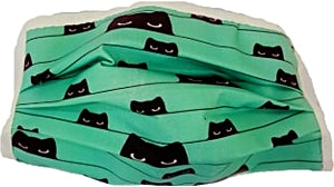 Cat Kids Washable Mask 1's