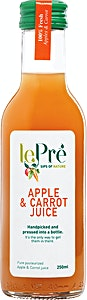 Le Pre' Apple & Carrot Juice 250 ml