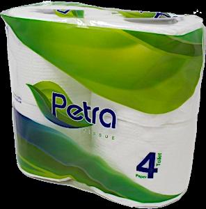 Petra Toilet Tissues 4 rolls