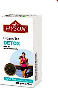 Hyson Detox Organic tea bags 15's