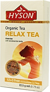 Hyson Relax Organic tea bags 15's @35% OFF