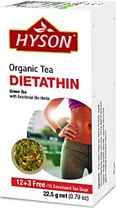 Hyson Dietathin Organic tea bags 15's @35% OFF