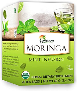 Moringa Mint Infusion Tea bags 20's