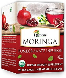 Moringa Pomegranate Infusion Tea bags 20's @30% OFF