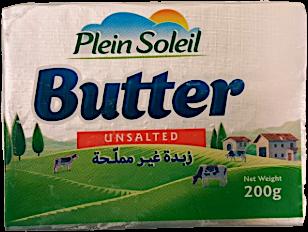 Plein Soleil Butter Unsalted 200 g
