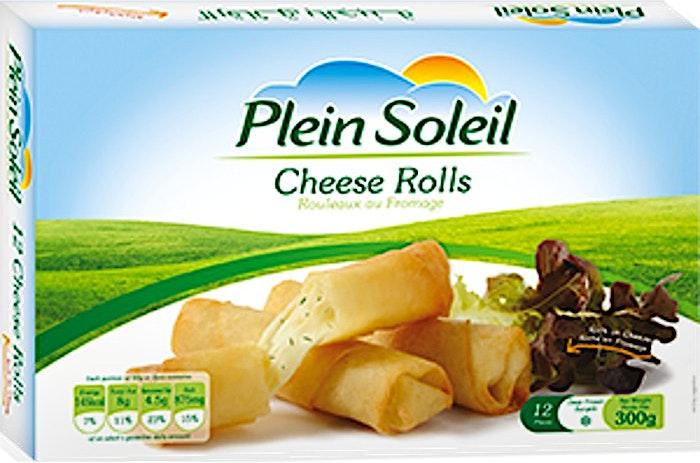 Plein Soleil Cheese Rolls 300 g