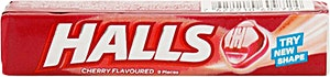 Halls Strawberry 9's