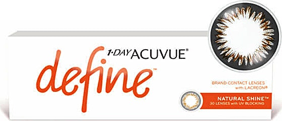 Acuvue 1-Day Define Natural Shine D-2.75 1's