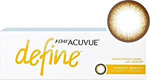 Acuvue Define Radiant Bright D-2.75 30's