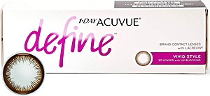 Acuvue 1-Day Define Vivid Style D-2.25 1's