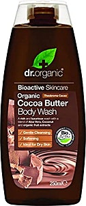 Dr. Organic Cocoa Butter Body Wash 250 ml