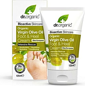 Dr. Organic Olive Oil Foot & Heel 125 ml