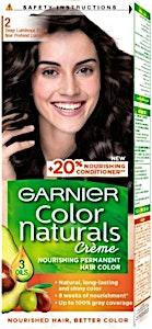 Garnier Color Naturals Crème Deep Luminous Black 2