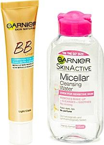 Garnier BB Cream Oil Free Light 40 ml + Free Micellar Cleansing Water 125 ml
