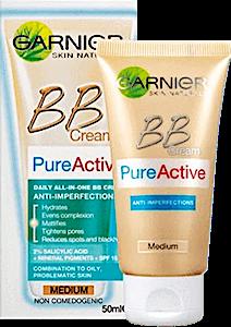 Garnier BB Cream  Pure Active Medium  50 ml