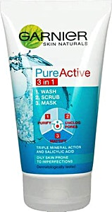 Garnier Pure Active 3 in 1 Mask 150 ml